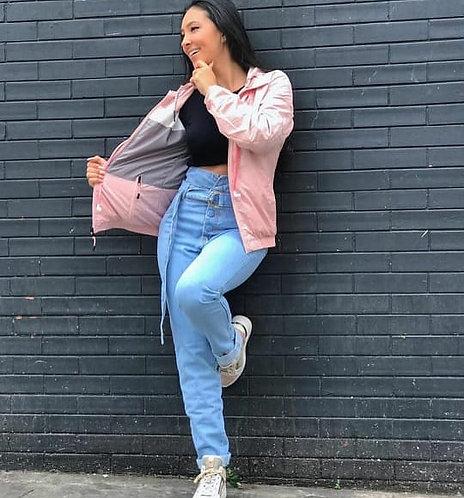 Calça jeans Mom Bia