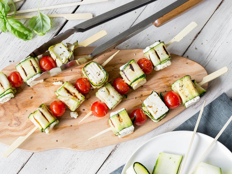 GO VEGGIE - 10 vegetarische Grillideen – ohne Fleisch und ohne Fisch