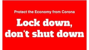 """Wie können wir lokale Unternehmen und die Gastronomie im """"Lockdown"""" retten!"""