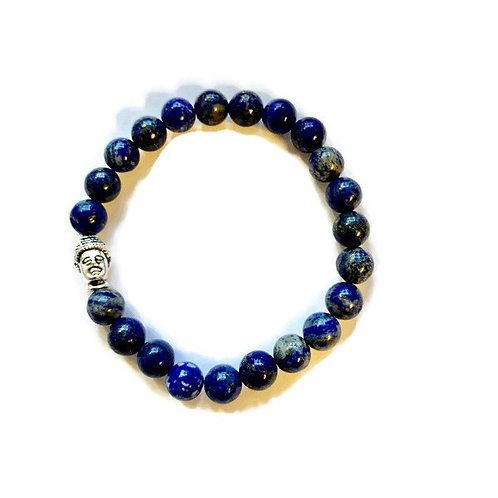 Lapis Lazuli Crystal ReikiMiAlma Bracelet