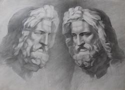 Buste de Zeus