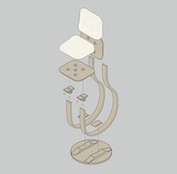 Axonométrie éclatée