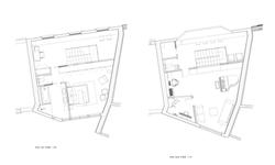 Plans 1e et 2e étages