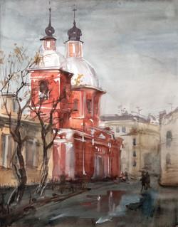 Eglise du Saint Grand Martyr et guérisseur Panteleimon. Saint Petersbourg