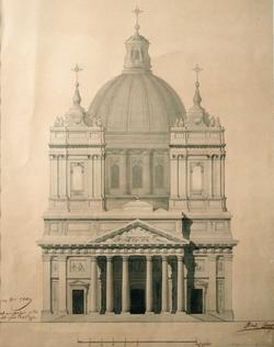 Copie du dessin de la façade