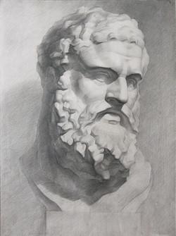 Buste de Héraclès