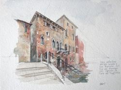 Petite aquarelle de Venise
