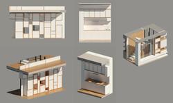 Details mobiliers, escalier