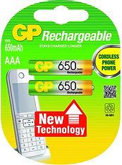 Аккумуляторы ААА 650mAh для радиотелефонов GP