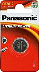 Батарейки дисовые размер 2012 PANASONIC CR
