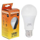 СТАРТ ECO LEDGLSE27 15W Светодиондые лампы по 72 рубля.
