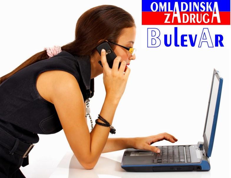 Omladinska I STUDENTSKA zadruga Bulevar, call centar operater , telefonista
