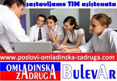 Sastavljamo TIM asistenata od studenata iz Beograda