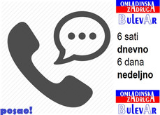 6 sati dnevno x 6 dana nedeljno - Telefonista/operater - Beograd | Studenti