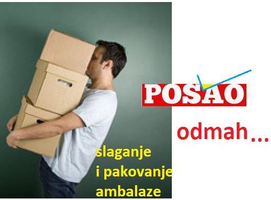 Oglasi za posao / Ponuda poslova Omladinska i studentska zadruga Bulevar - pakovanje robe Novi Sad