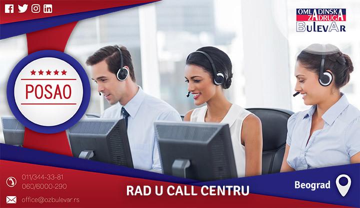 Poslovi preko omladinske zadruge, Omladinska zadruga, poslovi, call centar, rad u call centru, oglašavanje na internetu