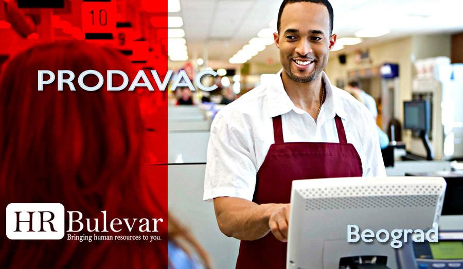 Prodavac, HR Bulevar, Poslovi,Beograd