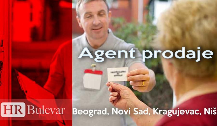 poslovi, agent, agent prodaje, beograd, niš, omladinska zadruga