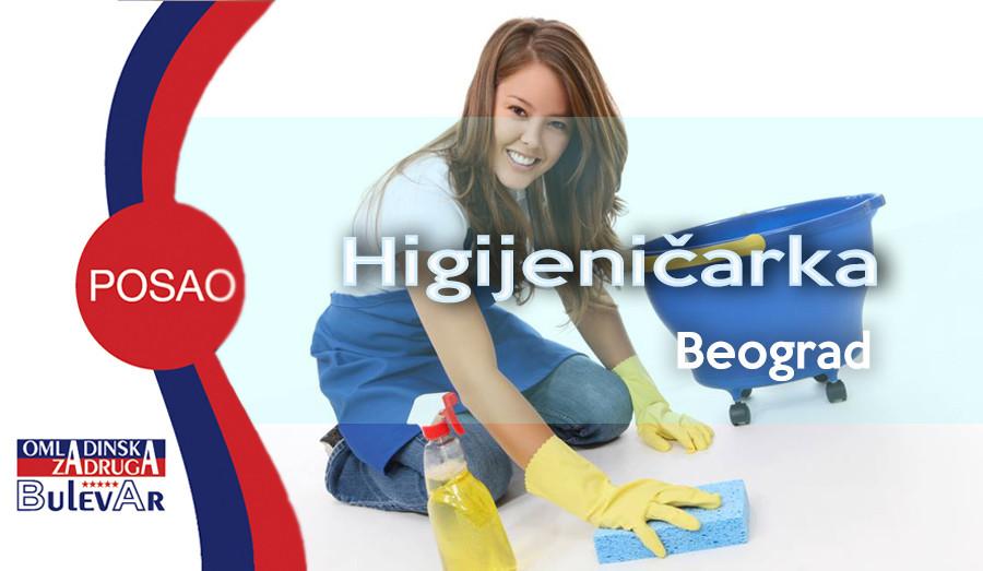 higijeničarka, student, ugostiteljstvo, omladinska zadruga bulevar, poslovi beograd