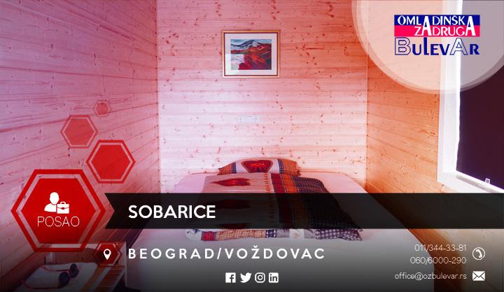 Oglas, Beograd, Voždovac, sobarice, pomoćni poslovi
