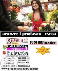Aranžer i prodavac cveća