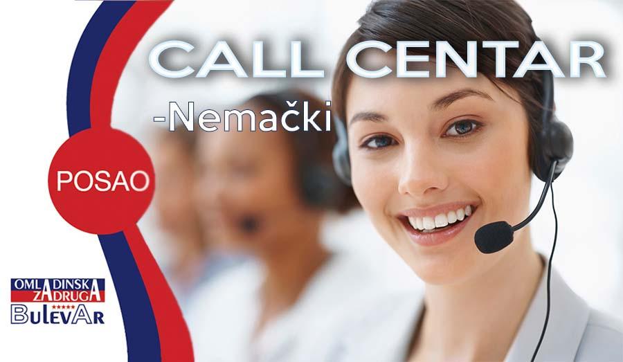 Call centar operater, poslovi, omladinska zadruga, Beograd , bulevar