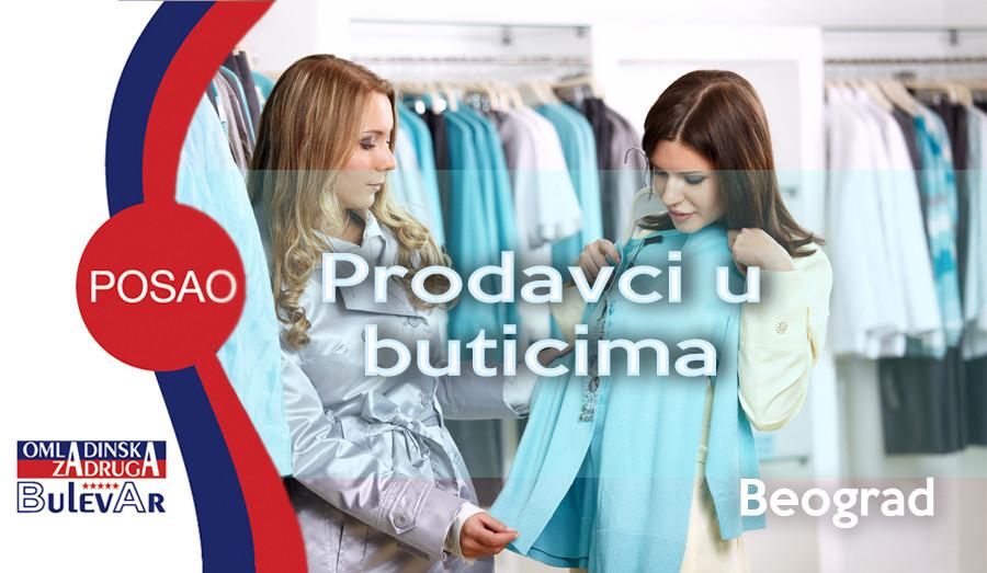 Oglas, Beograd, Prodavac, Butik,