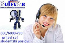 Studenti - telefonisti za Call Centar na Vračaru