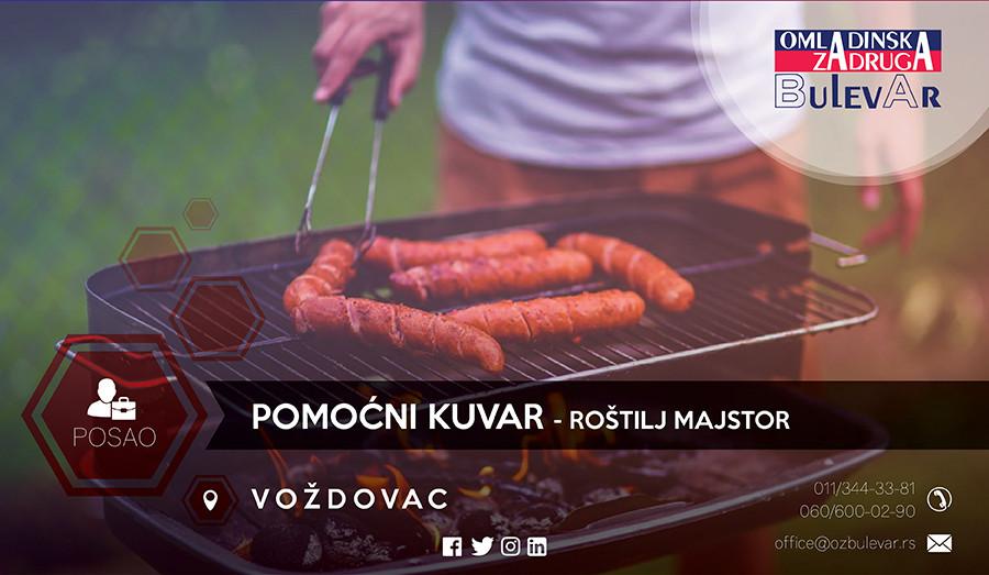 Oglas, Beograd, Kuvar, roštilj