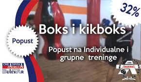 Akademac-32% popusta na Kikboks i boks treninge