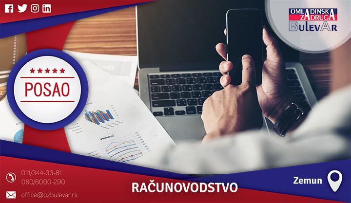 Poslovi preko omladinske zadruge, Omladinska zadruga, poslovi, računovođa, računovodstvo, pomoćni poslovi, pomoćni računovodja