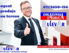 Agent prodaje na terenu- gradovi u Srbiji | Studenti / Nezaposleni