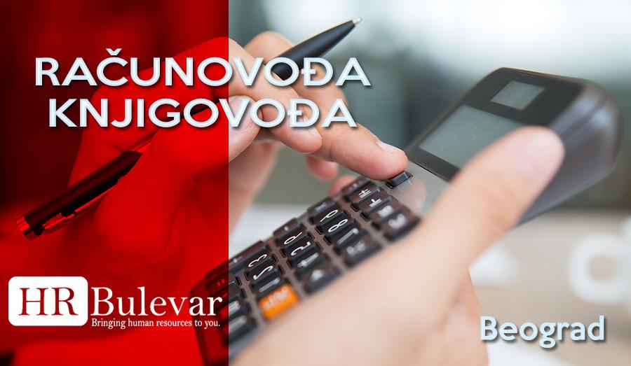 HR Bulevar, Poslovi Bulevar,Beograd, knjigovođa, računovođa