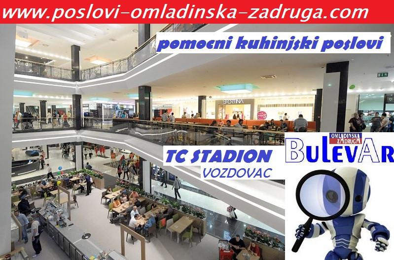 Oglasi za posao / poslovi preko omladinske i studentske zadruge BULEVAR, Kuhinjski radnici i prodavci brze hrane,Beograd