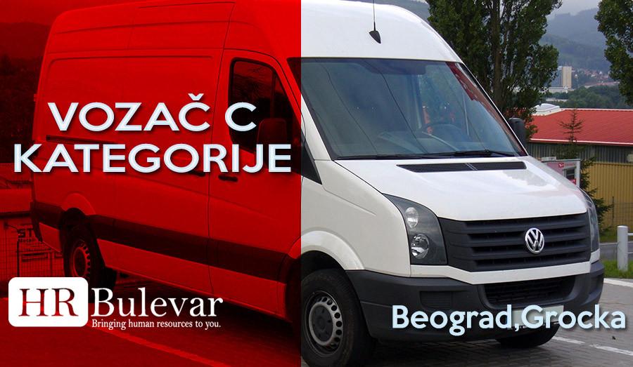 Beograd, HR Bulevar, Poslovi Bulevar, Vozač C kategorije, C kategorija, vozač