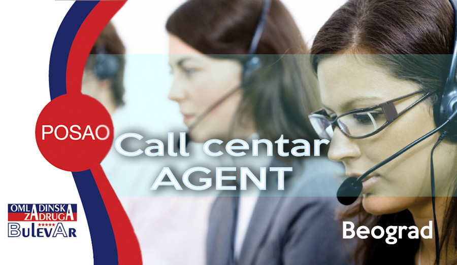 call centar, beograd, omladinska zadruga, poslovi, oglasi