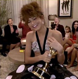 Congratulations @Zendaya! Youngest #Emmy #winner ever.