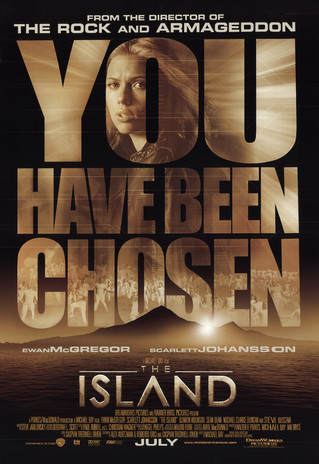 #THEISLAND with Ewan McGregor & Scarlett Johansson.