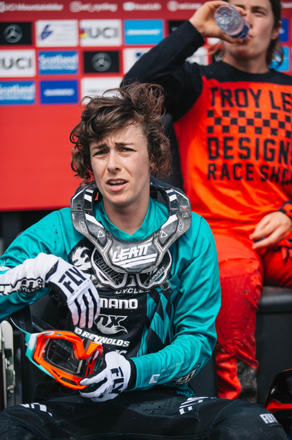 Emilie Siegenthaler at Fort William World Cup