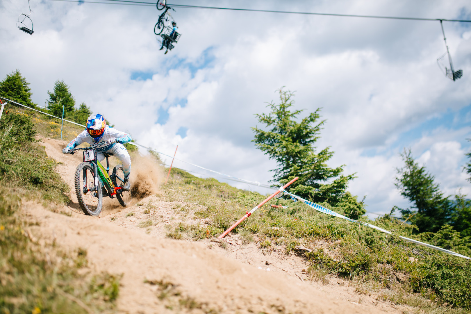 Loic Bruni at Les Gets World Cup