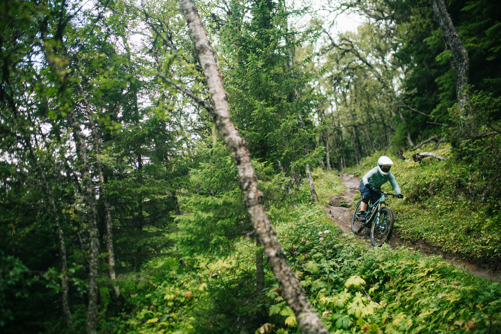 Hanna Jonsson at Are Bike Park