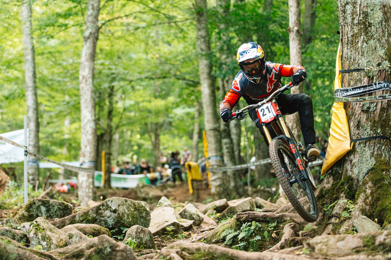 Aaron Gwin at Fort William