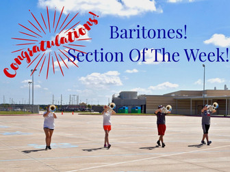 Section of the Week...Baritones!