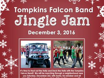 Jingle Jam March-A-Thon