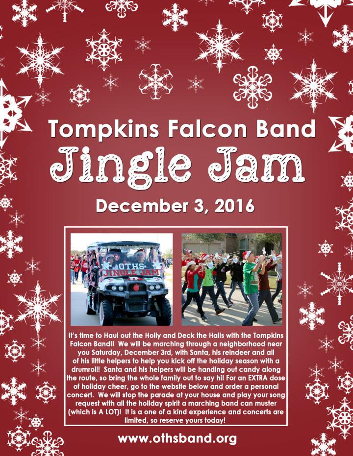 2016 Jingle Jam March-A-Thon