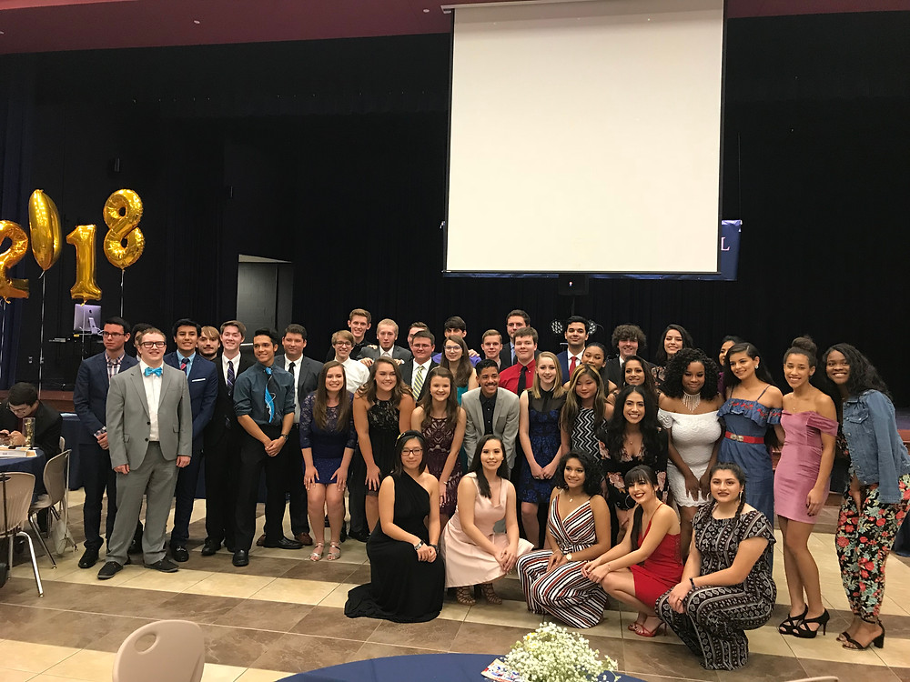 2018 Falcon Band Graduating Seniors