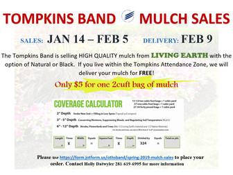 Spring 2019 Mulch Sales