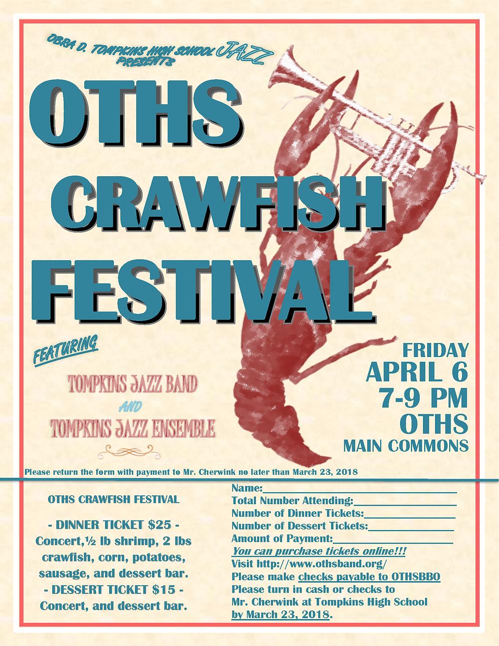 2018 OTHS Crawfish Festival