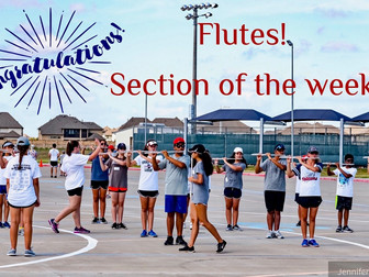 Section of the week...Flutes!