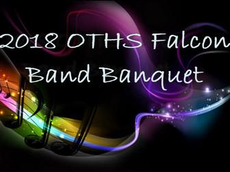 2018 Falcon Band Banquet